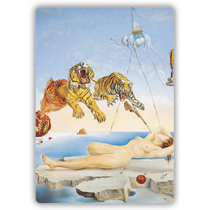 Dream caused by the Flight of a Bee... Before Awakening, 1944 Mini Mousemat<br>(Pack of 5)