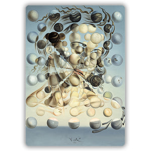 Galatea of Spheres, 1952 Mini Mousemat<br>(Pack of 5)