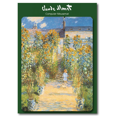 The Artist's Garden at Vetheuil Mousemat<br>(Pack of 5)