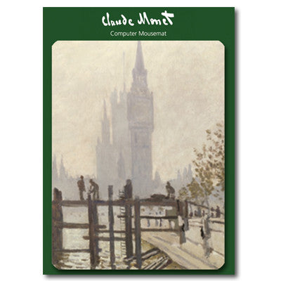 The Thames Below Westminster Mousemat<br>(Pack of 5)