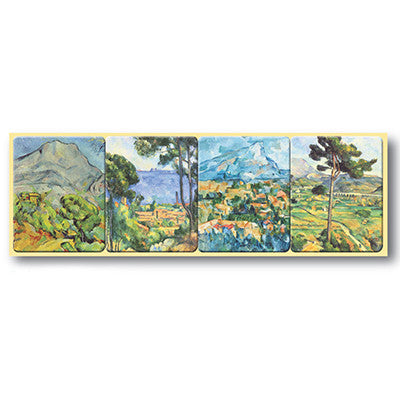 Cezanne - Magnet strip of 4<br>(Pack of 5)