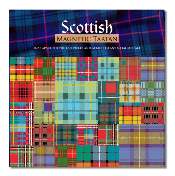 Magnetic Tartan Magnet Set<br>(Pack of 5)