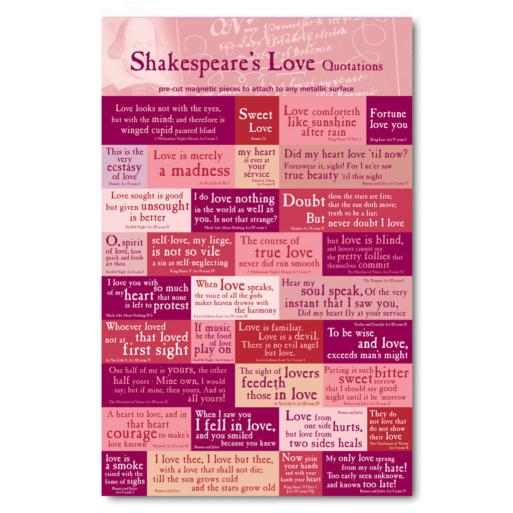 Love Quotes Magnet Set<br>(Pack of 5)