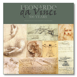 Da Vinci's Sketches Magnet Set<br>(Pack of 5)