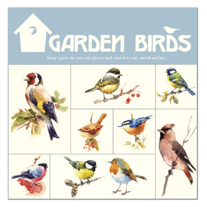 Mixed Birds 1 - Magnet Set<br>(Pack of 5)