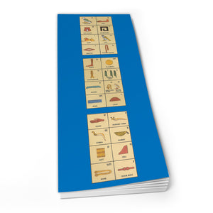 Egyptian HIEROGLYPHIC - Shopper Pad<br>(Pack of 10)