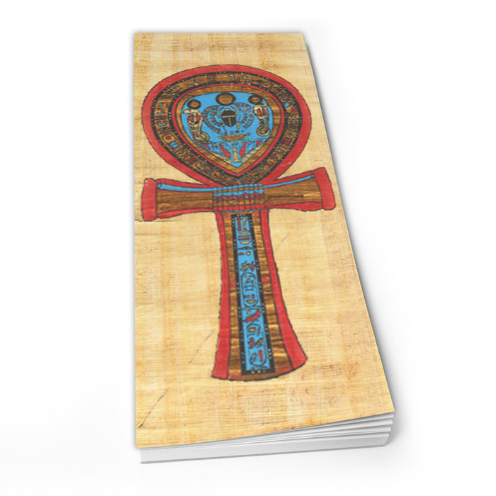Egyptian Ankh With Symbols - Shopper Pad<br>(Pack of 10)