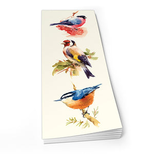 Bullfinch, Goldfinch, Nuthatch - Shopper Pad<br>(Pack of 10)