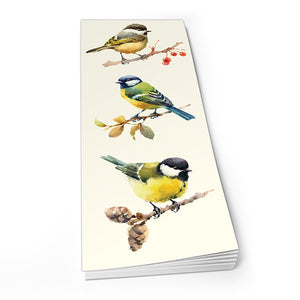 Coal Tit, Blue Tit, Great Tit - Shopper Pad<br>(Pack of 10)