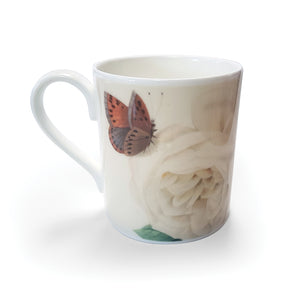 Hume's Blush Tea-Scented China Rose - Bone China Mug<br>(Pack of 6)