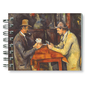 The Card Players Spiral Notebook<br>(Pack of 10)