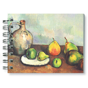 StIll Life, Jug and Fruits Spiral Notebook<br>(Pack of 10)