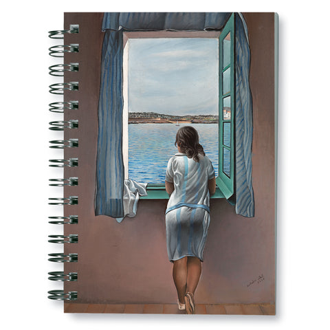 Girl at the Window, 1925 Spiral Notebook<br>(Pack of 10)