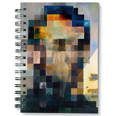 Gala Nude Looking at the sea... President Lincoln, 1975 Spiral Notebook<br>(Pack of 10)