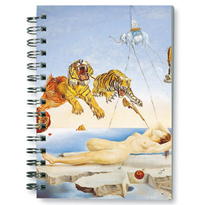 Dream caused by the Flight of a Bee... Before Awakening, 1944 Spiral Notebook<br>(Pack of 10)