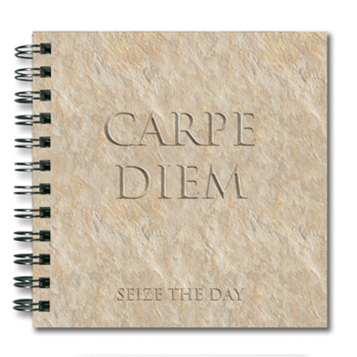 Carpe Diem (Sieze the Day) Spiral Notebook<br>(Pack of 10)