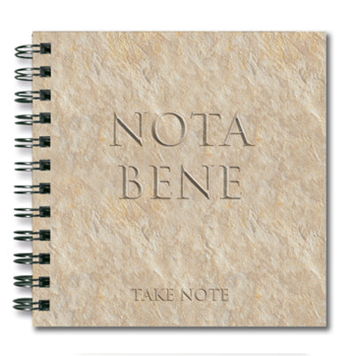 Nota Bene (Take Note) Spiral Notebook<br>(Pack of 10)