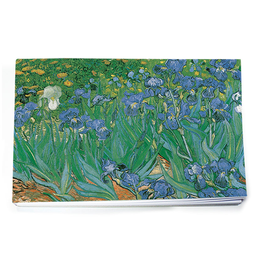Les Iris Notepad<br>(Pack of 10)