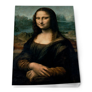 Mona Lisa Notepad A6<br>(Pack of 10)