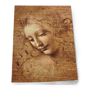 Head of a Young Woman Notepad A6<br>(Pack of 10)
