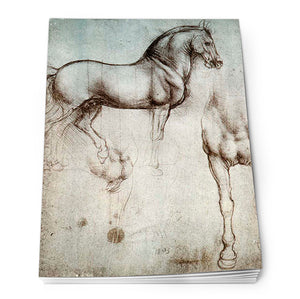 Study of a Horse Notepad A6<br>(Pack of 10)