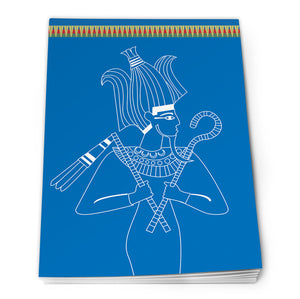 Egyptian Notepad A6 - Design 1<br>(Pack of 10)