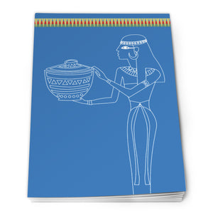Egyptian Notepad A6 - Design 2<br>(Pack of 10)
