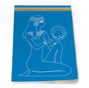Egyptian Notepad A6 - Design 3<br>(Pack of 10)
