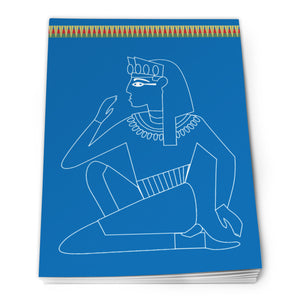 Egyptian Notepad A6 - Design 4<br>(Pack of 10)