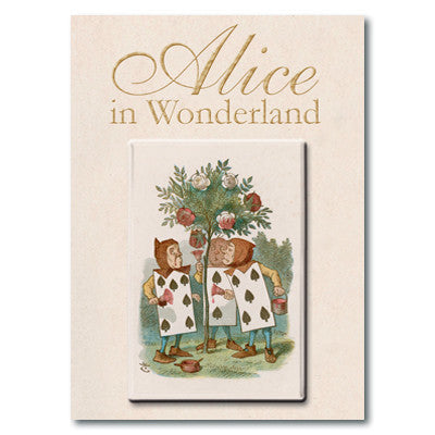 Alice and Gardener Fridge Magnet<br>(Pack of 10)