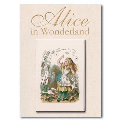 Alice and Cards Fridge Magnet<br>(Pack of 10)