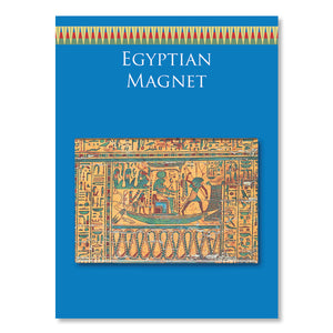 Inner Detail of Egyptian Coffin Fridge Magnet<br>(Pack of 10)