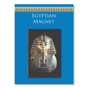 Tutankhamen Fridge Magnet<br>(Pack of 10)