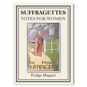 The 1st Weekly Suffragette Fridge Magnet<br>(Pack of 10)