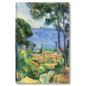 View of l'Estaque and the Chateau d'If Fridge Magnet<br>(Pack of 10)