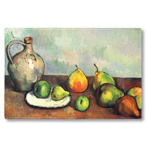 Still Life, Jug and Fruits Fridge Magnet<br>(Pack of 10)
