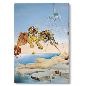 Dream caused by the Flight of a Bee... Before Awakening, 1944 Fridge Magnet<br>(Pack of 10)