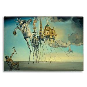 The Temptation of St. Anthony, 1946 Fridge Magnet<br>(Pack of 10)