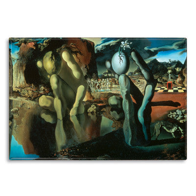 Metamorphosis of Narcissus, 1937 Fridge Magnet<br>(Pack of 10)