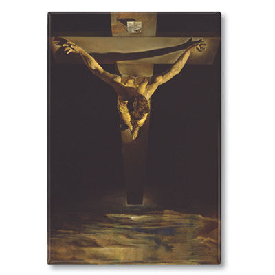 Christ of St John of the Cross, 1951 Fridge Magnet<br>(Pack of 10)