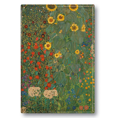 Farm Garden with Sunflowers Fridge Magnet<br>(Pack of 10)