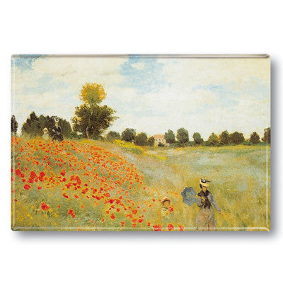 Wild Poppies Fridge Magnet<br>(Pack of 10)