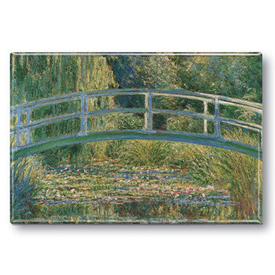 Waterlily Pond Fridge Magnet<br>(Pack of 10)