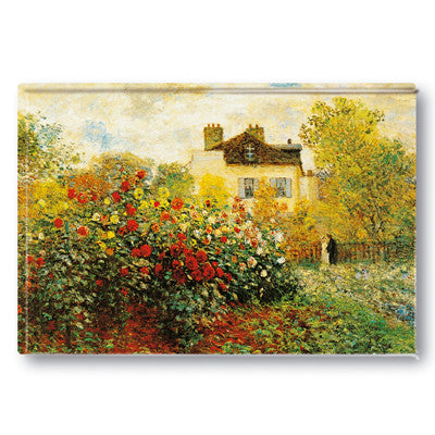 The Artist's Garden at Argenteuil Fridge Magnet<br>(Pack of 10)