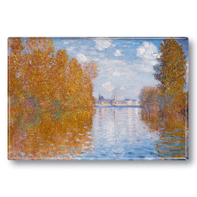 Autumn Effect at Argenteuil Fridge Magnet<br>(Pack of 10)