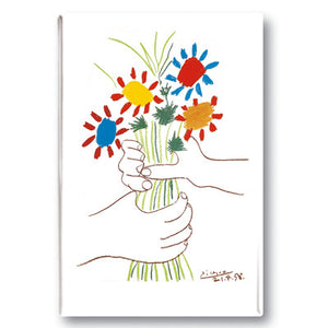 La Bouquet de l'amiti?_ Fridge Magnet<br>(Pack of 10)