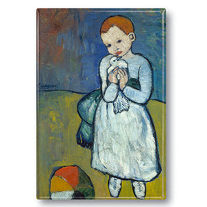 Child with a Dove Fridge Magnet<br>(Pack of 10)