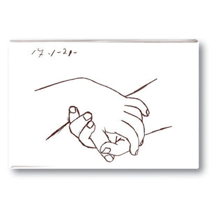 Hands Fridge Magnet<br>(Pack of 10)
