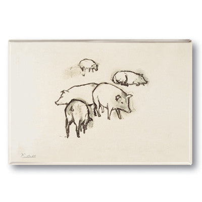 Pigs Fridge Magnet<br>(Pack of 10)