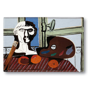 Buste et Palette Fridge Magnet<br>(Pack of 10)